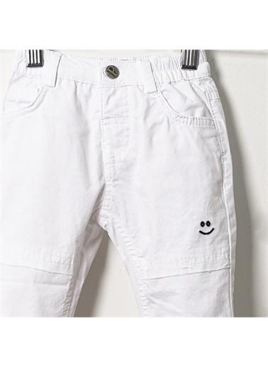 Panço Erkek Bebek Pantolon 19111090100 Beyaz